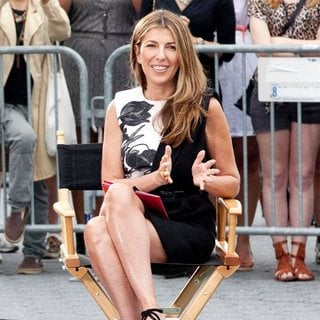 Nina Garcia in Shooting on Location for Project Runway