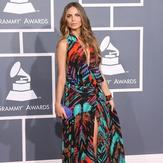 Nina Senicar in 54th Annual GRAMMY Awards - Arrivals