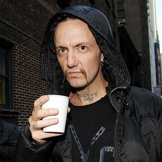 Ninja, Die Antwoord in Celebrities Outside of The Ed Sullivan Theater for The Late Show with David Letterman