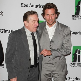 Robert De Niro, Bradley Cooper in 16th Annual Hollywood Film Awards Gala