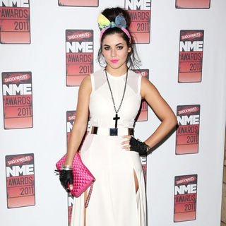 Marina and the Diamonds in Shockwaves NME Awards 2011 - Arrivals
