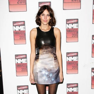 Alexa Chung in Shockwaves NME Awards 2011 - Arrivals