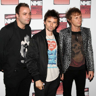 Muse in Shockwaves NME Awards 2011 - Arrivals