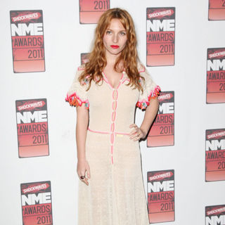 Josephine de La Baume in Shockwaves NME Awards 2011 - Arrivals