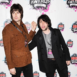 The Courteeners in Shockwaves NME Awards 2010 - Arrivals