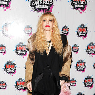 Courtney Love in Shockwaves NME Awards 2010 - Arrivals