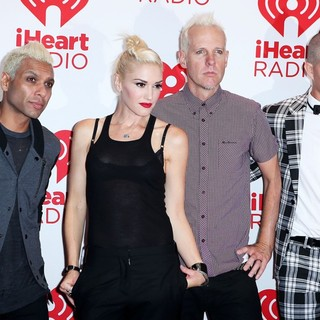 No Doubt in 2012 iHeartRadio Music Festival - Day 1 - Arrivals