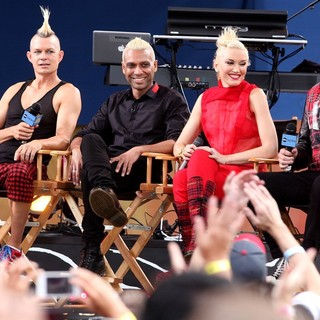 No Doubt in No Doubt Perform Live as Part of Good Morning America's Summer Concert Series