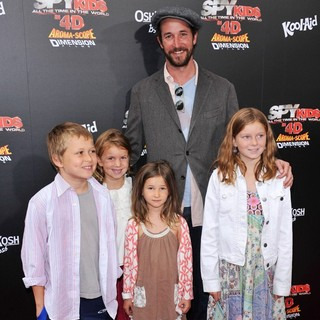 Noah Wyle in Spy Kids 4 All the Time in the World Los Angeles Premiere