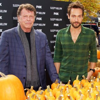 John Noble, Tom Mison in Tom Mison and John Noble Visit FOX's SLEEPY HOLLOW-een Pumpkin Patch