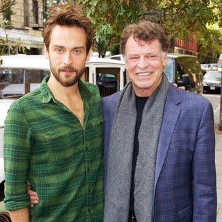 Tom Mison, John Noble in Tom Mison and John Noble Visit FOX's SLEEPY HOLLOW-een Pumpkin Patch