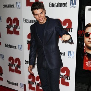 Nolan Gerard Funk in New York Premiere of 22 Jump Street