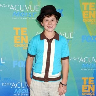 Nolan Gould in 2011 Teen Choice Awards
