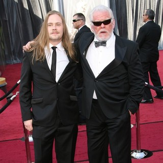Brawley Nolte, Nick Nolte in 84th Annual Academy Awards - Arrivals