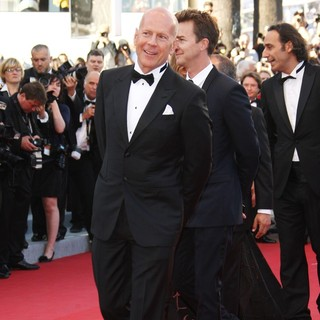 Bruce Willis, Edward Norton in Moonrise Kingdom Premiere - During The Opening Ceremony of The 65th Cannes Film Festival