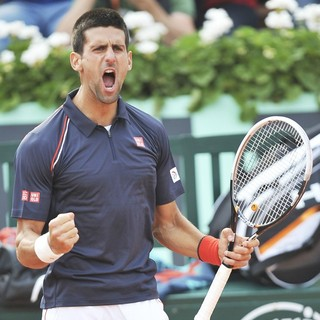 Novak Djokovic in The 2012 French Open Men's Final