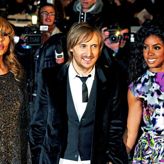Cathy Guetta, David Guetta, Kelly Rowland in NRJ Music Awards 2010