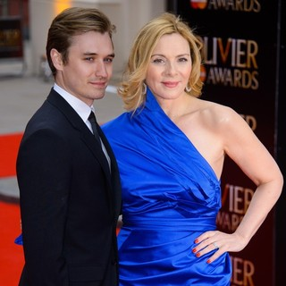 Seth Numrich, Kim Cattrall in The Olivier Awards 2013 - Arrivals