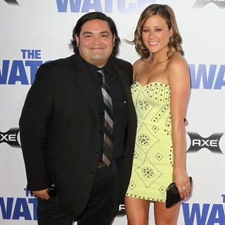 Joe Nunez, Jennifer Schaeffer in Los Angeles Premiere of The Watch