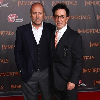 Gianni Nunnari, Mark Canton in Immortals 3D Los Angeles Premiere