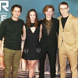 Dylan O'Brien, Kaya Scodelario, Thomas Sangster, Will Poulter in UK Fan Screening of Maze Runner: The Death Cure - Arrivals
