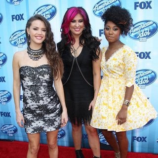 Kristen O'Connor, Jessica Meuse, Majesty Rose in FOX's American Idol XIII Finale