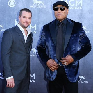 Chris O'Donnell, LL Cool J in 49th Annual Academy of Country Music Awards - Arrivals