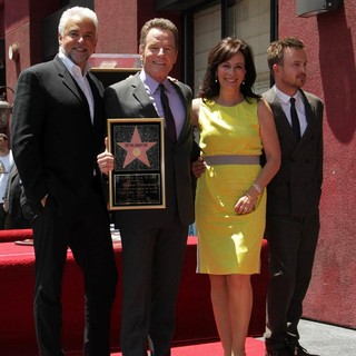 Jane Kaczmarek in Bryan Cranston Honored with Star on The Hollywood Walk of Fame - o-hurley-cranston-kaczmarek-paul-bryan-cranston-walk-of-fame-03