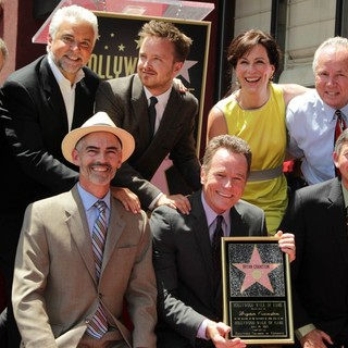 Jane Kaczmarek in Bryan Cranston Honored with Star on The Hollywood Walk of Fame - o-hurley-paul-cranston-kaczmarek-gubler-bryan-cranston-walk-of-fame-02