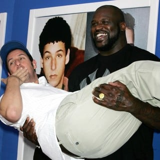 Adam Sandler, Shaquille O'Neal in New York Premiere of Grown Ups 2