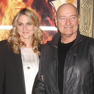 Lori O'Quinn, Terry O'Quinn in Premiere of The Hobbit: An Unexpected Journey