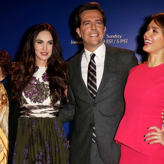 Aida Takla-O'Reilly, Megan Fox, Ed Helms, Jessica Alba in 70th Annual Golden Globe Awards Nominations Announcement