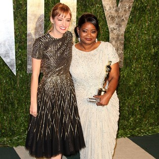Ahna O'Reilly, Octavia Spencer in 2012 Vanity Fair Oscar Party - Arrivals