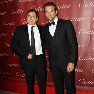 David O. Russell, Bradley Cooper in 24th Annual Palm Springs International Film Festival Awards Gala - Red Carpet