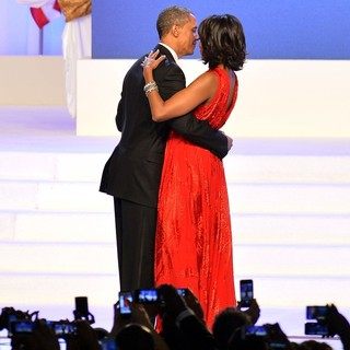 Barack Obama, Michelle Obama in The Inaugural Ball