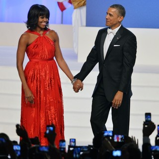 Michelle Obama, Barack Obama in The Inaugural Ball