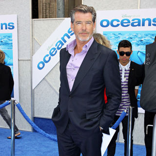 Pierce Brosnan in Disneynature's Premiere of 'Oceans' - Arrivals
