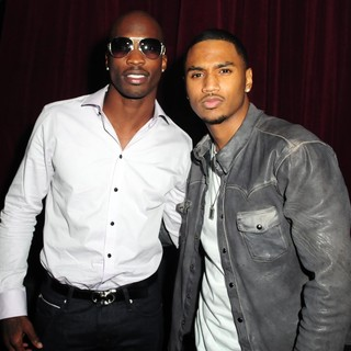 Chad Ochocinco, Trey Songz in Chad Ochocinco's Birthday Party