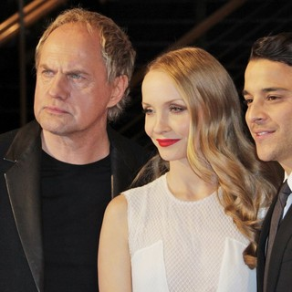 Uwe Ochsenknecht, Janin Reinhardt, Kostja Ullmann in The 63rd Berlin International Film Festival - Premiere The Croods