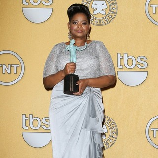 Octavia Spencer in The 18th Annual Screen Actors Guild Awards - Press Room
