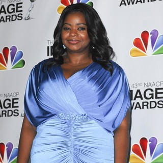 Octavia Spencer in The 43rd Annual NAACP Awards - Press Room