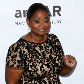 Octavia Spencer in amfAR 3rd Annual Inspiration Gala