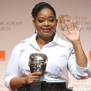 Octavia Spencer in Orange British Academy Film Awards 2012 - Press Room