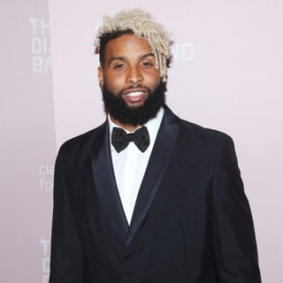 Odell Beckham Jr. in Rihanna's 4th Annual Diamond Ball