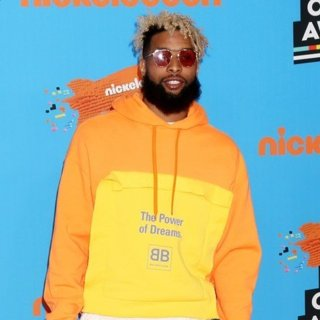 Odell Beckham Jr. in Nickelodeon's 2018 Kids' Choice Awards