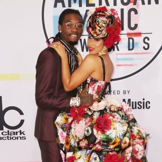 Offset, Cardi B in 2018 American Music Awards - Arrivals