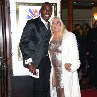 Ben Ofoedu, Vanessa Feltz in VIVA Forever Spice Girls The Musical - Arrivals