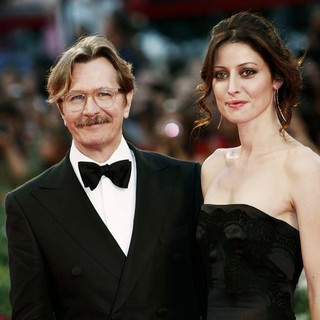 Gary Oldman, Alexandra Edenborough in The 68th Venice Film Festival - Day 6 - Tinker, Tailor, Soldier, Spy - Premiere