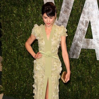 Olga Kurylenko in 2012 Vanity Fair Oscar Party - Arrivals