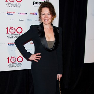 Olivia Colman in The London Critics' Circle Film Awards